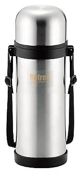 パール金属水筒1000mlコップ付きダブルステンレスボトルリフレスHB-2425の画像