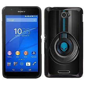 EJOY---Cubierta de la caja de protección para la piel dura ** Sony Xperia E4 ** --Diseño Extranjero