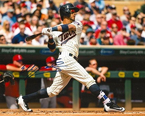 fe7569814c5 Eddie Rosario Signed Photograph - 8x10 COA C - Autographed MLB Photos at  Amazon's Sports Collectibles Store