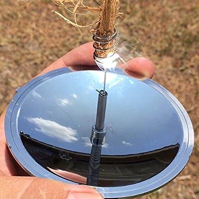 Diamondo Solar Spark Lighter Cigar Starter Fire Emergency Fire Survival Tool Gear for Outdoor Camping FieldPractice by Diamondo