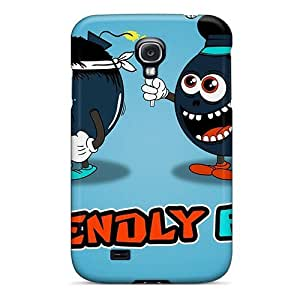 High Impact Dirt/shock Proof Case Cover For Galaxy S4 (friendly Fire)