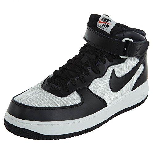 Nike Men's Force White 1 Black Air Mid '07 rv6Cxrwq