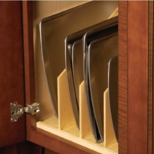 Vertical Tray Divider, maple, 22.25