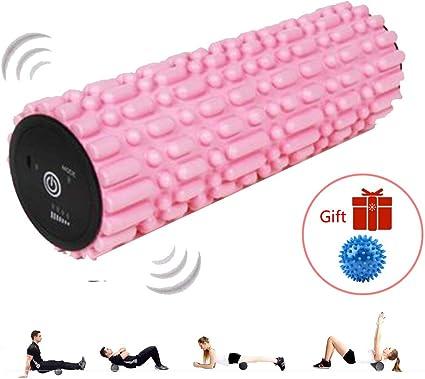 LieYuSport Foam Roller Vibracion Masaje,Pelota Masaje+Eléctrico ...