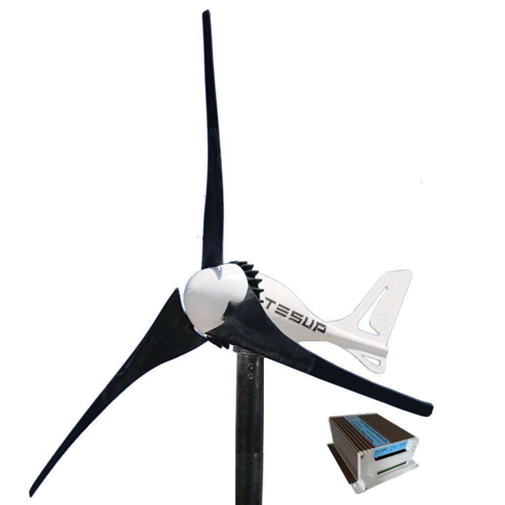 Fatto in Europa Regolatore di carica ibrida da 650 W TESUP Turbina eolica 12V i-500 Interruttore manuale per turbine eoliche