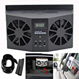 Features: *Solar Powered Car Auto Air Vent Cooling Fan System *Keeps air clean, helps to eliminate the smell of pets or tobacco *Auto fan blows hot air out of parked car *Solar powered, energy saving, no battery required *Maintains comfortable temper...