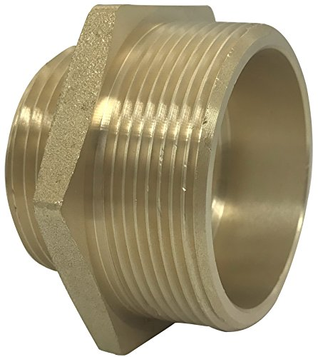 Happy Hydrant (Happy Tree Brass Fire Hose Adapter Hex Nipple 2