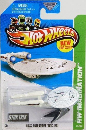 2013 Hot Wheels Hw Imagination - Star Trek - USS Enterprise NCC-1701 (Hot Wheels Star Trek Uss Enterprise Ncc 1701)
