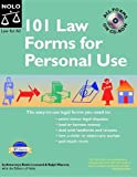 101 Law Forms for Personal Use, Robin Leonard and Ralph Warner, 1413303714