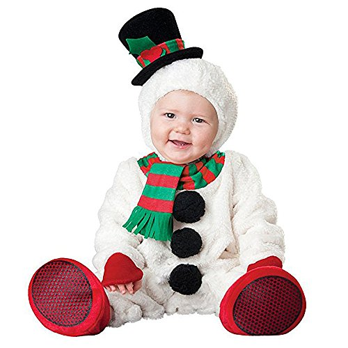 Hug Me Toddler Baby Infant Snowman Snowbaby Christmas Dress up Costume Outfit -