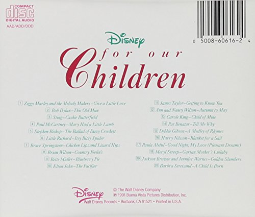 For Our Children - To Benefit The Pediatric AIDS Foundation - by Brand: Disney Records (Image #1)
