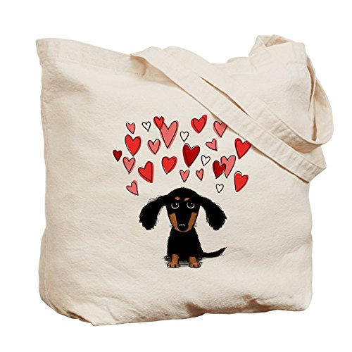 CafePress Cute Natural Cloth Tote Bag Canvas Dachshund Shopping Bag rrwd6nqxEC