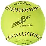 Ragballs A122609T Incrediball Polyester Softball, 12'' Size, Yellow