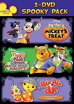 2009 Playhouse Disney Spooky Pack [USA] [DVD]: Amazon.es: Spooky ...
