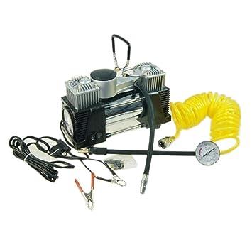 KATSU Tools 451714 - Bomba de compresor de aire para neumáticos de coche o furgoneta, 12 V, gran volumen, multicolor: Amazon.es: Coche y moto