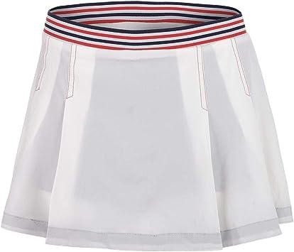K-Swiss Heritage Falda, Mujer, Blanco, XL: Amazon.es: Deportes y ...
