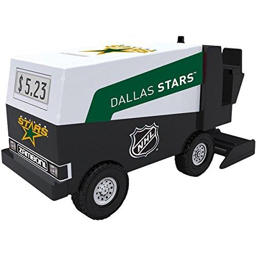 NHL Hockey - Dallas Stars - Zamboni Digital Electronic Coin Counting Bank