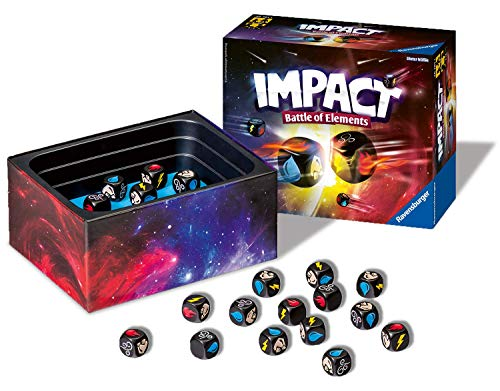 Ravensburger Impact: Battle of The Elements Game for Families and Kids Age 8 and Up - Fast, Fun, Easy to Learn and Play with Great Replay Value!