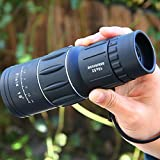 16x52 Dual Focus Monocular Telescope/Monocular Scope Waterproof High powered for Hunting, Camping, Surveillance,Wildlife Birdwatching gift for boys