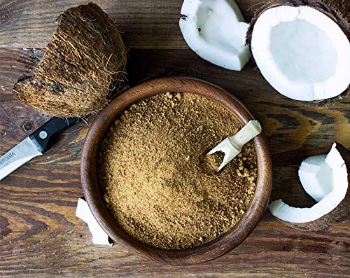 Organic Brown Coconut Sugar, 8 Ounces - Non-GMO, Pure Palm Sugar, Kosher, Vegan, Fair Trade, Unrefined, Granulated, Low Glycemic Sweetener, Highly Nutritious, Perfect for Baking, Bulk by Food to Live (Image #3)