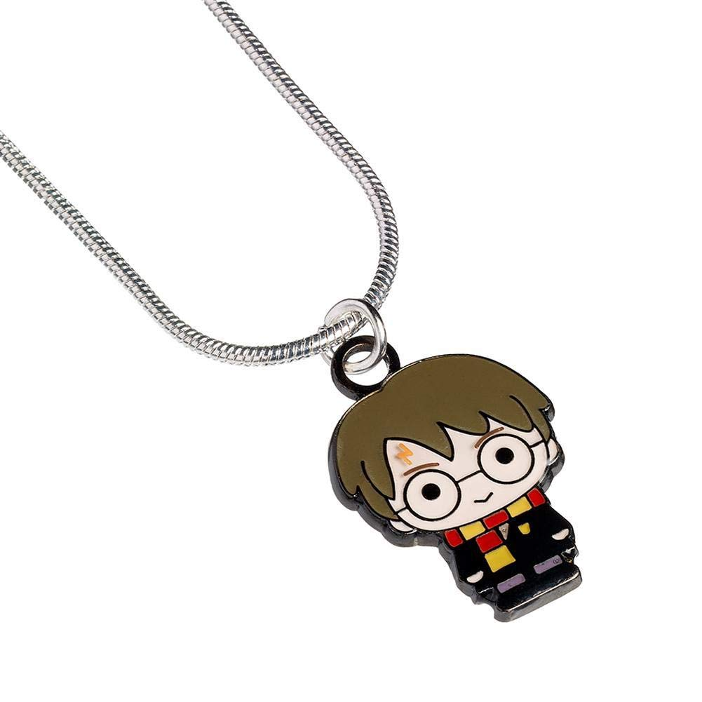 Harry Potter Silver Plated Chibi Harry Necklace