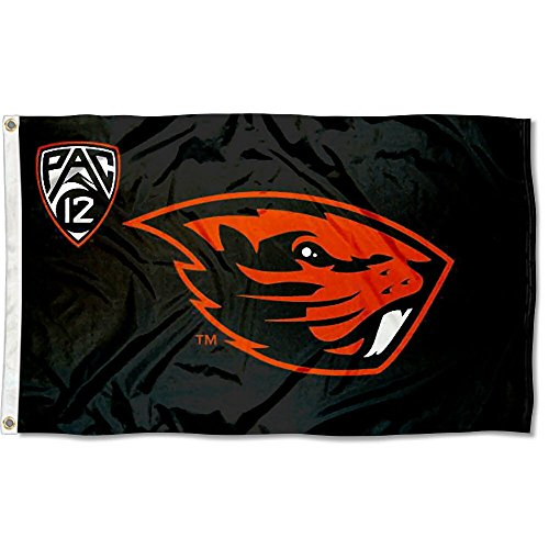 (Oregon State University PAC 12 Flag and Banner )