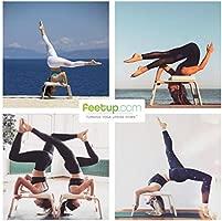 Feetup - Banco de yoga con reposacabezas: Amazon.es ...