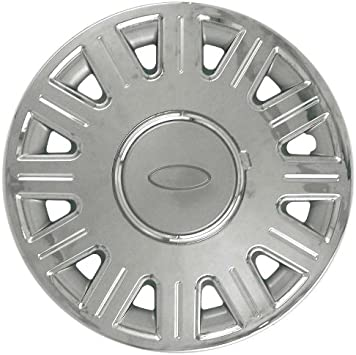 Amazon Com Cci Iwc412 16cn 16 Inch Clip On Chrome Finish Hubcaps Pack Of 4 Automotive
