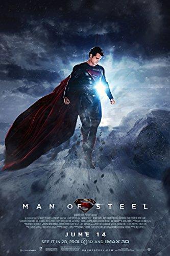 Man of Steel poster 36 inch x 24 inch / 20 inch x 13 inch