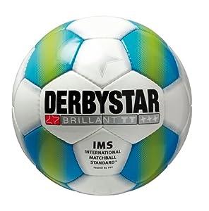Derbystar Fußball Brillant TT, Petrol, 1236500164