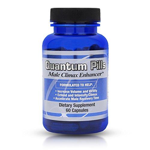 Quantum Pilules de Sperme Volumizer & Apogée Masculine Enhancer Supplément pour Toute la Nuit de la Performance Sexuelle -- Augmenter le Volume de Sperme - Renforcer l'Orgasme - Stimuler la libido de récupération pour la Ronde 2 plus Vite -- (60 ct)