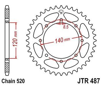 JT Sprockets JTR487.44 44T Steel Rear Sprocket