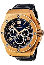TW Steel Men's CE4003 CEO Tech Blue Dial Chronograph Watch