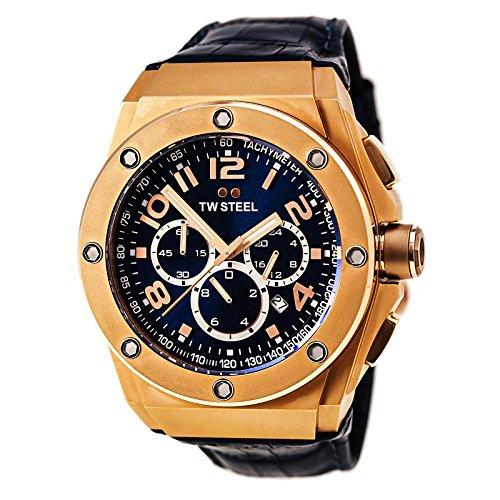 TW Steel Men s CE4003 CEO Tech Blue Dial Chronograph Watch