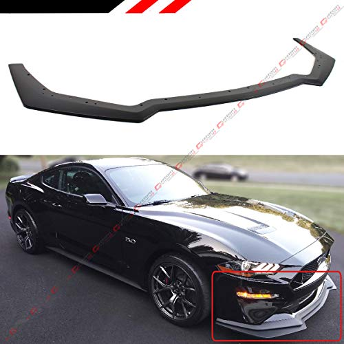 Fits for 2018-2019 Ford Mustang GT Ecoboost Performance Pack Style Add-on Front Bumper Lip Splitter ()