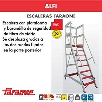 ESCALERA PROFESIONAL ALFI. FARAONE. LCS (ALFI 04. 4peldaños): Amazon.es: Bricolaje y herramientas