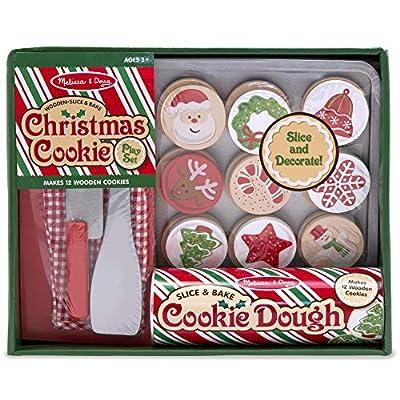 Melissa & Doug Slice & Bake Christmas Cookie Play Set: Melissa & Doug: Toys & Games