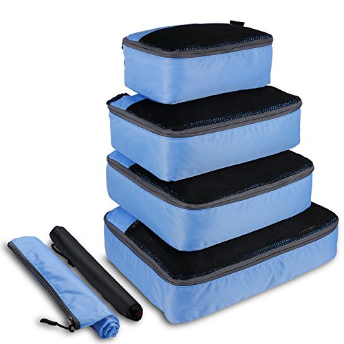 OXA 6 Pcs Travel Packing Cubes Set, Luggage Pac...