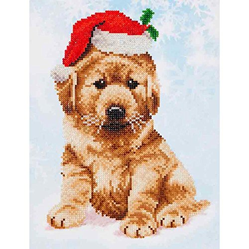 Needleart World Christmas Lab Diamond Embroidery Kit