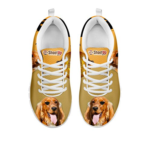 Your Breed Running Sneakers Halloween Spaniel for Cocker Pet Women Shoetup Women's Shoes Dog Casual Choose vwvaq4