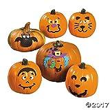 Small Pumpkin Face Craft Kit - Crafts for Kids & Decoration Crafts