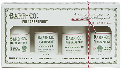 Fir and Grapefruit Scent Bath and Body Gift Set by Barr Co