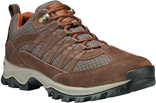 Picture of Timberland Mens Mt. Maddsen Lite Low Hiking Boot, Dark Brown, Size 11.5