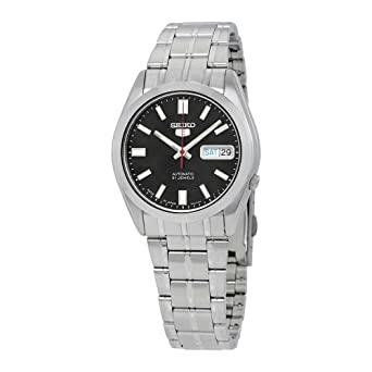 b16d487c624 Amazon.com  SEIKO 5 Automatic watch made in Japan SNKE87J1  Watches