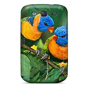 Perfect Fit RQyIeQi1330uEdXf Tropicalbirds Case For Galaxy - S3