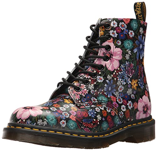 Dr. Martens Women's Pascal Wanderlust Fashion Boot Multicolour (Black/ Mallow Pink Wanderlust 002)