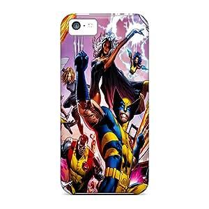 High Grade JamesRGy Flexible Tpu Case For Iphone 5c - X Men