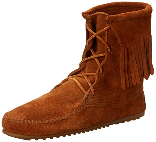 (Minnetonka Women's Tramper Ankle Hi Boot,Brown,7 M US )