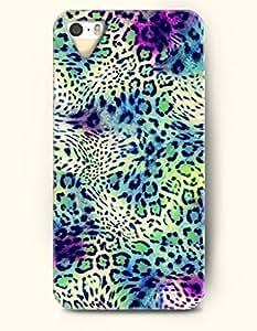 Phone Case For iPhone 5 5S Colorful Cheetah Print - Hard Back Plastic Case / Animal Print / SevenArc Authentic