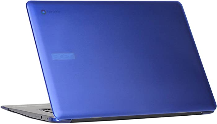 """mCover Hard Shell Case for 15.6"""" Acer Chromebook 15 CB515 Series (NOT Compatible with Older C910 / CB5-571 / CB3-531 Series) Laptop (Blue)"""